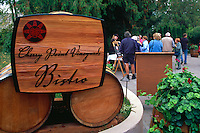 Bistro Sign at Cherry Point Vineyards during the Cowichan Valley Wine & Culinary Festival, on Vancouver Island, British Columbia, Canada