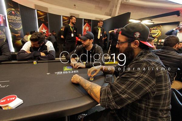 Sao Paulo (SP), 26/11/2019 - BSOP-Millions - Caue Moura - Comecou nesta terca-feira (26), o maior torneio de Poker da America Latina, o BSOP Millions. Neste primeiro dia de evento, diversas celebridades se juntam para disputar a famosa ''Mesa das Estrelas''. (Foto: Diego Soares/Codigo 19/Codigo 19)