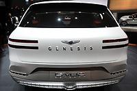 NEW YORK, EUA, 13.04.2017 - AUTOMÓVEL-NEW YORK - Genesis GV80 Concept é visto durante o New York Internacional Auto Show no Javits Center na cidade de New York nesta quinyta-feira, 13. O evento é aberto ao público do dia 14 à 23 de abril de 2017 . (Foto: Vanessa Carvalho/Brazil Photo Press)