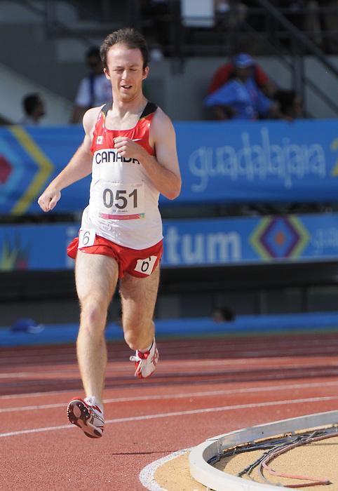 Shane Dobson, Guadalajara 2011 - Para Athletics // Para-athlétisme.<br /> Shane Dobson competing in the Men's 800m - T37 Final // Shane Dobson en compétition dans le 800 m hommes - Finale T37. 11/17/2011.