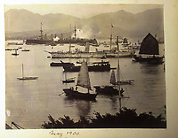 BNPS.co.uk (01202) 558833<br /> Pic: Charles Miller/BNPS<br /> <br /> HMS Terrible in Hong Kong in 1900<br /> <br /> A fascinating photo album compiled by a British naval officer on tour in the Far East at the turn of the 20th century has come to light.<br /> <br /> Taprell Dorling served on the HMS Terrible in 1900 at the start of an over 30 year career at sea.<br /> <br /> The album, containing 74 photos, has emerged for sale with auctioneers Charles Miller, of London, with an estimate of £3,000.