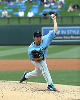 Yusei Kikuchi - Seattle Mariners 2020 spring training (Bill Mitchell)