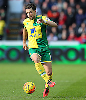 Russell Martin of Norwich City during the Barclays Premier League match between Swansea City and Norwich City played at The Liberty Stadium, Swansea on March 5th 2016
