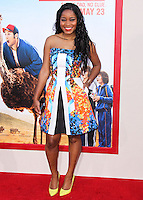HOLLYWOOD, LOS ANGELES, CA, USA - MAY 21: Keke Palmer at the Los Angeles Premiere Of Warner Bros. Pictures' 'Blended' held at the TCL Chinese Theatre on May 21, 2014 in Hollywood, Los Angeles, California, United States. (Photo by Xavier Collin/Celebrity Monitor)