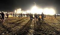 21st Wacken Open Air WOA  (5.8. - 7.8.2010) in Wacken (Germany , Schleswig-Holstein) - nearly 85000 metalheads celebrate their Mekka of metal - in picture: the stage seems to burn - atmosphere during a headliner concert // im Bild: die Bühne scheint zu brennen - Atmosphäre während des Konzerts in der Nacht.  Foto: Norman Rembarz..Norman Rembarz , Autorennummer 41043728 , Augustenstr. 2, 04317 Leipzig, Tel.: 01794887569, Hypovereinsbank: BLZ: 86020086, KN: 357889472, St.Nr.: 231/261/06432 - Jegliche kommerzielle Nutzung ist honorar- und mehrwertsteuerpflichtig! Persönlichkeitsrechte sind zu wahren. Es wird keine Haftung übernommen bei Verletzung von Rechten Dritter. Autoren-Nennung gem. §13 UrhGes. wird verlangt. Weitergabe an Dritte nur nach  vorheriger Absprache..