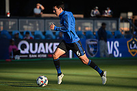 San Jose, CA - Wednesday June 28, 2017: Shea Salinas prior to a U.S. Open Cup Round of 16 match between the San Jose Earthquakes and the Seattle Sounders FC at Avaya Stadium.
