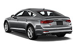 Car pictures of rear three quarter view of a 2018 Audi S5 Sportback 3.0T Premium Plus quattro Tiptronic 5 Door Hatchback angular rear