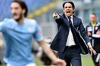 Simone Inzaghi coach of SS Lazio during the Serie A football match between SS Lazio and Genoa at Olimpico Stadium in Roma (Italy), May 2th, 2021. Photo Antonietta Baldassarre / Insidefoto