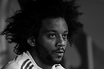 Marcelo Vieira Da Silva of Real Madrid looks on prior to the La Liga 2017-18 match between Real Madrid and SD Eibar at Estadio Santiago Bernabeu on 22 October 2017 in Madrid, Spain. Photo by Diego Gonzalez / Power Sport Images
