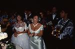 ALESSANDRA E PATRIZIA GUCCI  - FESTA DI COMPLEANNO DI ALESSANDRA GUCCI - VILLA BORROMEO A CASSANO D'ADDA 1994