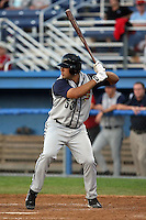 August 1 2008:  Kyle Morgan (53) of the State College Spikes, Class-A affiliate of the Pittsburgh Pirates, during a game at Dwyer Stadium in Batavia, NY.  Photo by:  Mike Janes/Four Seam Images