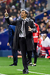 Manager Juan Ramon Lopez Muniz of Levante UD gestures during the La Liga 2017-18 match between Levante UD and Real Madrid at Estadio Ciutat de Valencia on 03 February 2018 in Valencia, Spain. Photo by Maria Jose Segovia Carmona / Power Sport Images