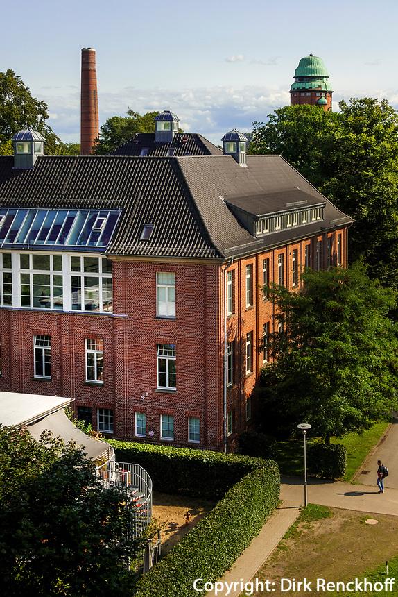 Industrie-Architektur im ehemaligen Krankenhaus Barmmbek, Hamburg, Deutschland, Europa<br /> industrial architecture in former hospital Barmbek, Hamburg, Germany, Europe