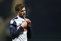 29th December 2020; Deepdale Stadium, Preston, Lancashire, England; English Football League Championship Football, Preston North End versus Coventry City; Tom Barkhuizen of Preston North End walks from the pitch at the end of the match