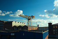The Barclay Curle Titan Crane, Whiteinch, Glasgow