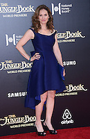 Amy Brenneman @ the premiere of 'The Jungle Book' held @ El Capitan theatre.<br /> April 4, 2016