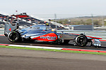 Lewis Hamilton (4) driver of the Vodafone McLaren Mercedes in action during the Formula 1 United States Grand Prix practice session at the Circuit of the Americas race track in Austin,Texas. The Formula 1 United States Grand Prix will take place on 18 November 2012....