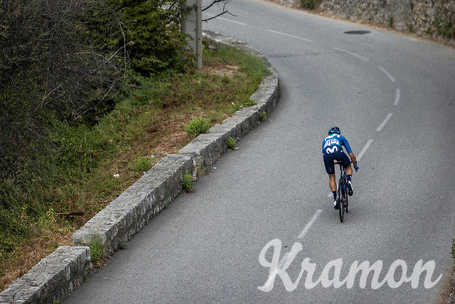 Barbara Guarischi (ITA/Movistar)<br /> <br /> 7th La Course by Le Tour de France 2020<br /> 1 day race from Nice to Nice 96km<br /> ©kramon
