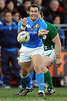 Burton (Italia)<br /> Italia vs Irlanda<br /> Six Nations Rugby<br /> Stadio Flaminio, Roma, 05/02/2011<br /> Photo Antonietta Baldassarre Insidefoto