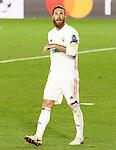 Real Madrid's Sergio Ramos during UEFA Champions League match. November 3,2020.(ALTERPHOTOS/Acero)