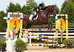 12 July 2009: Becky Roper riding Jireh during the showjumping phase of the CIC 2* Maui Jim Horse Trials at Lamplight Equestrian Center in Wayne, Illinois.