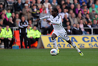 Pictured: Nathan Dyer of Swansea. Saturday 17 September 2011<br /> Re: Premiership football Swansea City FC v West Bromwich Albion at the Liberty Stadium, south Wales.