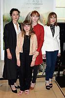 LAURA SCHROEDER, THEMIS PAUWELS, LOLITA CHAMMAH, ISABELLE HUPPERT - Avant premiere du film ' BARRAGE ' - 29 juin 2017 - Paris - France