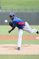 Miguel De Los Santos - Texas Rangers - 2010 Instructional League.Photo by:  Bill Mitchell/Four Seam Images..