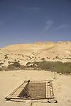 Israel, Negev, a water cistern at the foothill of Tel Nitzana