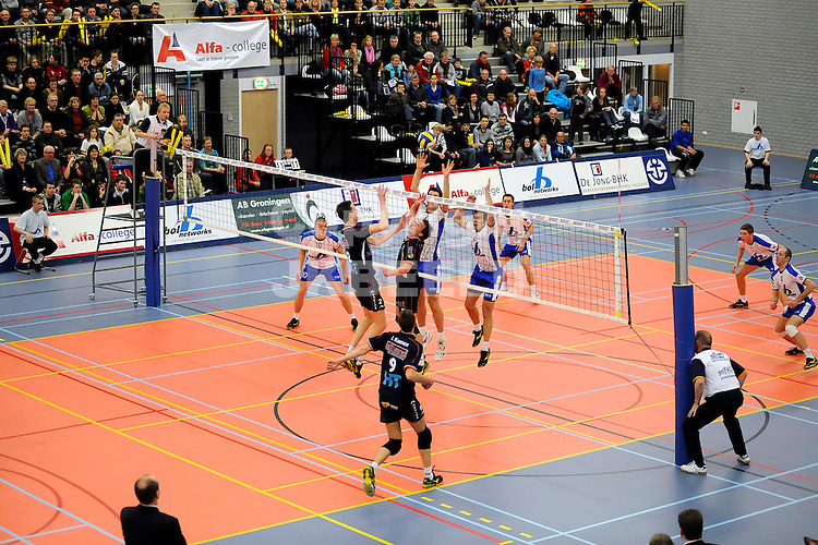 volleybal lycurgus - orion seizoen 2007-2008 08-03-2008 ..fotograaf Jan Kanning