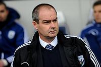Saturday, 9 March 2013<br /> <br /> Pictured: Steve Clarke Head Coach of West Bromwich Albion<br /> <br /> Re: Barclays Premier League West Bromich Albion v Swansea City FC  at the Hawthorns, Birmingham, West Midlands
