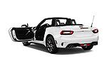 Car images close up view of 2017 Abarth 124 Spider Base 2 Door Convertible doors
