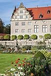 Germany, Baden-Wuerttemberg, Tauber Valley, Weikersheim: Weikersheim Castle and Gardens | Deutschland, Baden-Wuerttemberg, Taubertal, Weikersheim: Schloss Weikersheim und Park