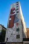 Building Mural, Santiago