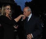 ROMANA LIUZZO E LAMBERTO DINI<br /> PREMIO GUIDO CARLI - QUARTA EDIZIONE<br /> RICEVIMENTO HOTEL MAJESTIC ROMA 2013