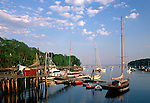 View of Rockport Harbor, Rockport, Maine