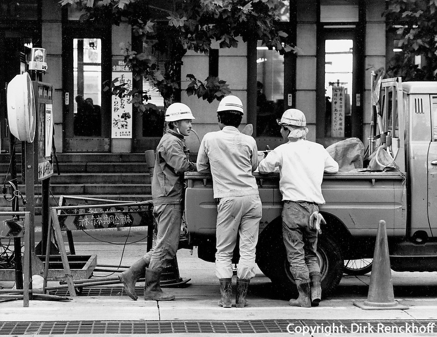 Arbeiter in Japan