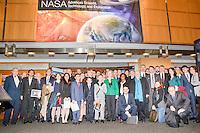 Group photo at a meeting at NASA Headquarters