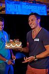 Sam Trickett and his birthday cake