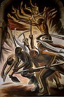 art par Chavez Mordo,<br /> Mexique<br /> <br /> (date inconnue)<br /> <br /> PHOTO : Michel Faugere Publiphoto- Agence Quebec Presse