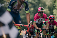 Taylor Phinney (USA/Education First-Drapac) coming up in the grupetto 500 meters from the finish<br /> <br /> Stage 5: Lorient > Quimper (203km)<br /> <br /> 105th Tour de France 2018<br /> ©kramon