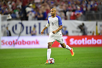 Houston, TX - Tuesday June 21, 2016: John Brooks during a Copa America Centenario semifinal match between United States (USA) and Argentina (ARG) at NRG Stadium.