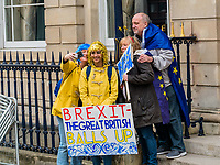 London, UK - March 23 2019: the peoples show her banner during the demonstration the people Brexit march for people's vote protest. Photo Adamo Di Loreto/BuenaVista*photo