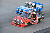 NASCAR Camping World Truck Series<br /> Bar Harbor 200<br /> Dover International Speedway, Dover, DE USA<br /> Friday 2 June 2017<br /> Grant Enfinger, Ride TV Toyota Tundra, Johnny Sauter, Allegiant Airlines Chevrolet Silverado<br /> World Copyright: John K Harrelson<br /> LAT Images<br /> ref: Digital Image 17DOV1jh_03382