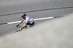 Élie Gesbert (FRA) Arkéa-Samsic attacks on the Col du Soulor during Stage 14 of the 2019 Tour de France running 117.5km from Tarbes to Tourmalet Bareges, France. 20th July 2019.<br /> Picture: ASO/Pauline Ballet | Cyclefile<br /> All photos usage must carry mandatory copyright credit (© Cyclefile | ASO/Pauline Ballet)