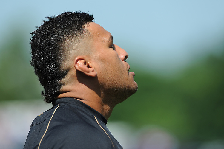 Nathan Hughes of Wasps during warm up before the Aviva Premiership Rugby semi final match between Saracens and Wasps at Allianz Park on Saturday 19th May 2018 (Photo by Rob Munro/Stewart Communications)