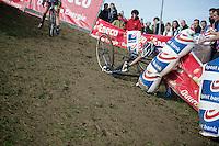Sanne Cant (BEL/Ciclismo Mundial) crashing<br /> <br /> GP Mario De Clercq<br /> Hotondcross 2014
