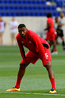 Harrison, NJ - Friday July 07, 2017: Anthony Jackson-Hamel during a 2017 CONCACAF Gold Cup Group A match between the men's national teams of French Guiana (GUF) and Canada (CAN) at Red Bull Arena.
