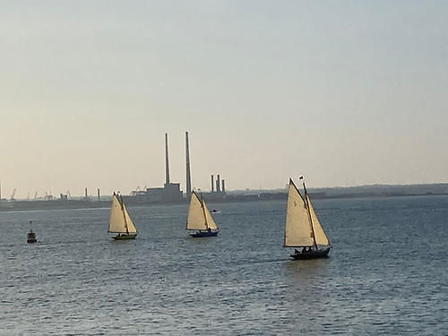 Dublin Bay 21 footers by