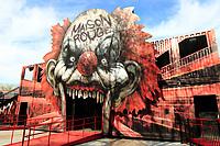 La Maison Rouge a La Ronde<br /> <br /> PHOTO : Agence Quebec Presse